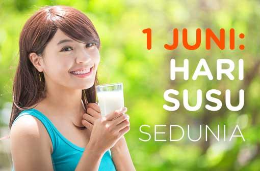 1 Juni: Hari Susu Sedunia